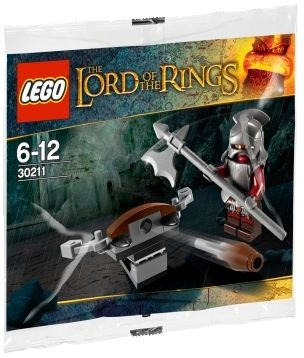 Lego Lord of the Rings 30211 Uruk Hai with ballista UNIKAT