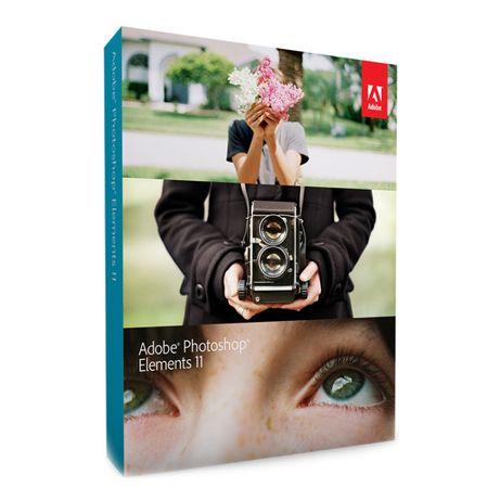 Adobe Photoshop Elements 11 PL - wersja pudełkowa