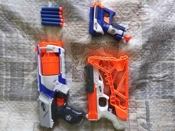 Nerfy- pistolety  zabawkowe