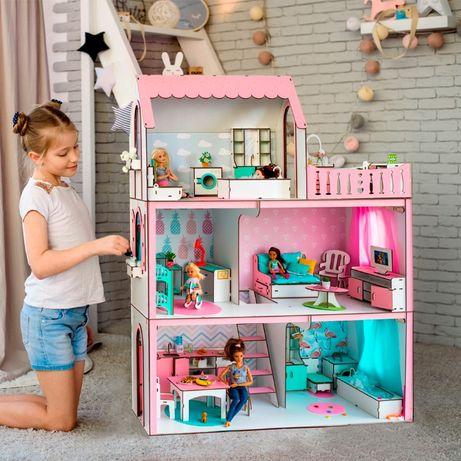 Кукольный Домик NestWood+подарок Ляльковий будинок ЛОЛ LOL