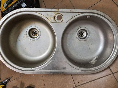 Zlew zlewozmywak kuchenny teka 2 komory stalowy