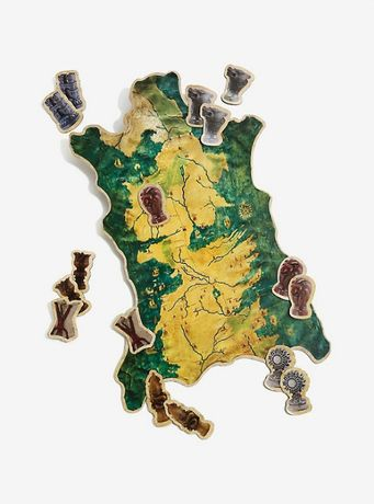 Mapa magnético de Westeros - Game of Thrones (novo)