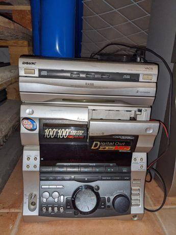Aparelhagem Estéreo Sony RX88
