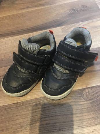 Buty dziecięce przejściowe wiosna jedień r23 deichmann  rzepy