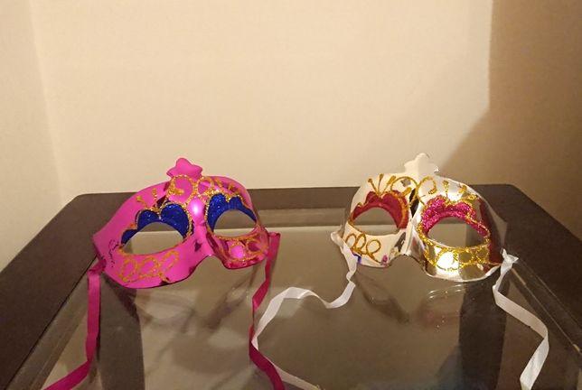 Карнавальные маски (120грн 2 шт)