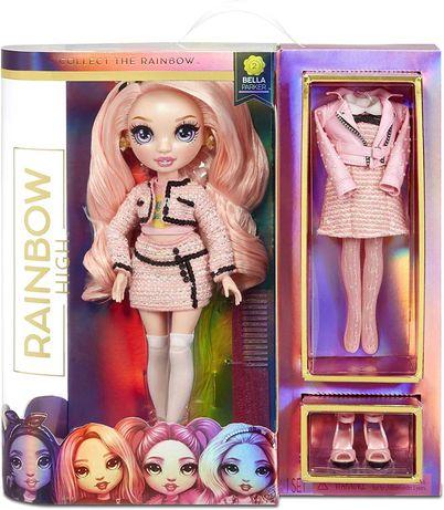 Оригинал Рейнбоу Хай - Белла Паркер Rainbow High Bella Parker Pink