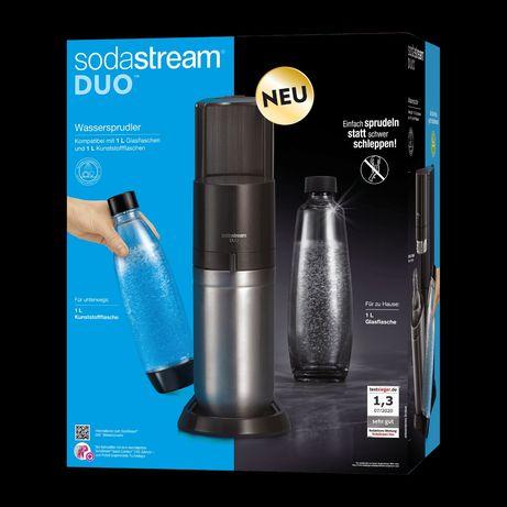 Sodastream Duo plastik i szkło Nowość w sklepie 700pln