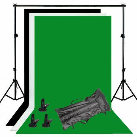 Estudio fotografia 1.6 x 3.0 fundo verde branco e preto cinema