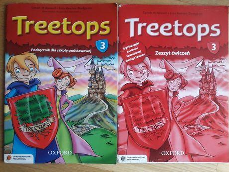 Treetops 3 podręcznik, zeszyt ćwiczeń + CD