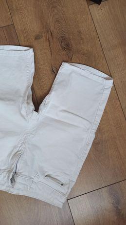 Shorty krótkie spodenki białe S kolarki