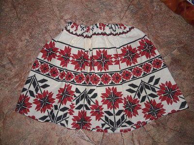 юбка в украинском стиле