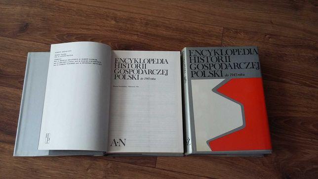 Encyklopedia historii gospodarczej Polski do roku 1945
