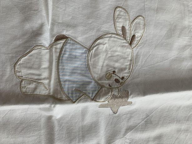 Pościel dla niemowlaka plus ochraniacz
