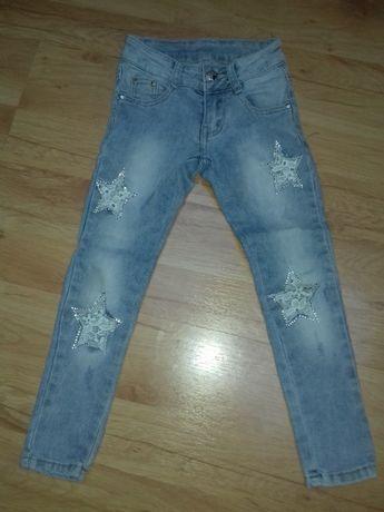 Spodnie dżinsowe 5-6 lat dziewczynka