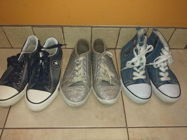Trampki tenisowki buty obuwie damskie