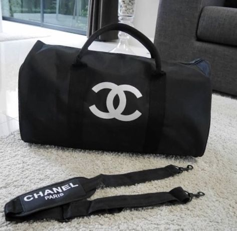 Сумка Ручная Кладь Дорожная Спортзал Оригинал Chanel