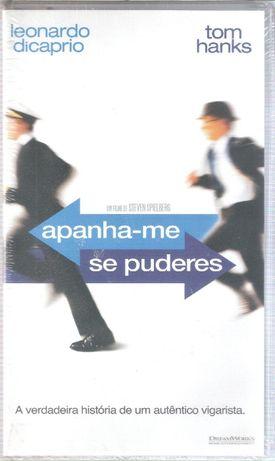 """Filme VHS """"Apanha-me se Puderes"""" Novo Original"""
