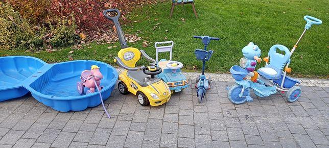 Zabawki hulajnoga rower