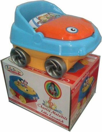 Детский музыкальный горшок машинка