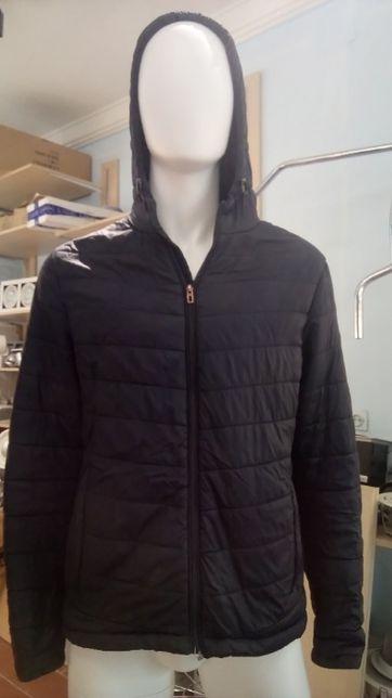 Куртка Oodji тёмно - синяя осень / весна .