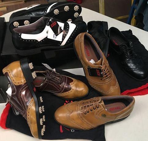 Sapatos Golfe Novos