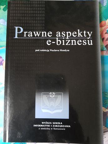 Prawne aspekty e-biznesu Wacław Mendys
