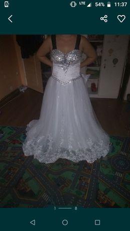Suknia slubna princeska