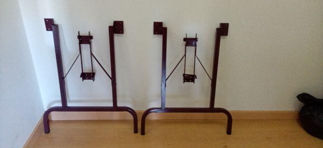 Pernas articuladas para mesa (A: 70cm x L: 60cm)