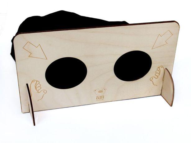 Zgadywanka sensoryczna, drewniana, integracja si-is, pomoc sensoryczna