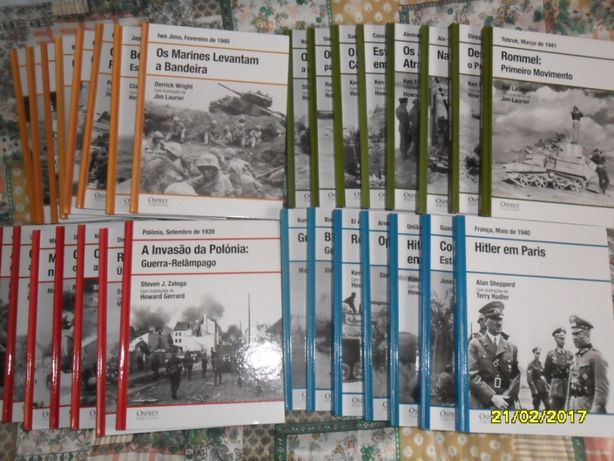 Livros guerra nunca usados