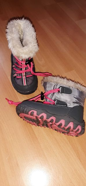 Nowe bez metki buty zimowe r 22 wkladka 14.5 cm