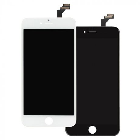 Ecrã LCD + Touch Screen + vidro para Apple iPhone 6 Branco e Preto