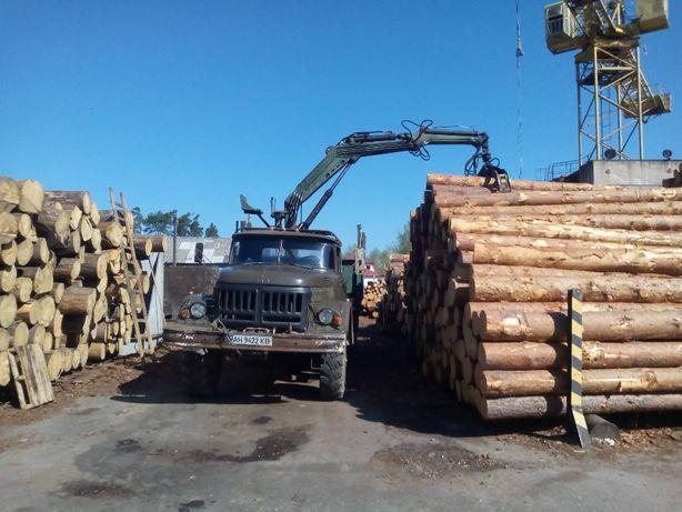 Продам ЗИЛ 131 лесовоз с манипулятором
