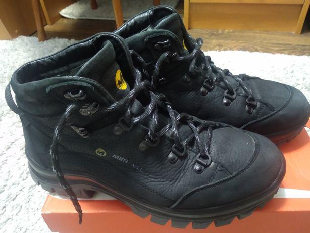 Зимові ботинки кожа набук