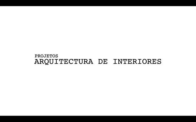 Projetos de Arquitectura de Interiores