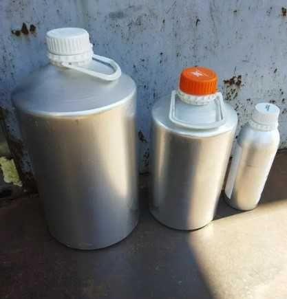 Тара алюминиевая канистра 10 литров 5 пустая емкость