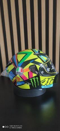 Kask AGV Pista GP R – SOLELUNA 2016 Carbon Monster 'ML FV
