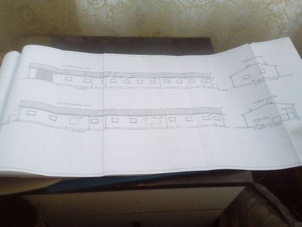 Projekt budowlany budynku chlewni w systemie rusztowym plus zbiornik