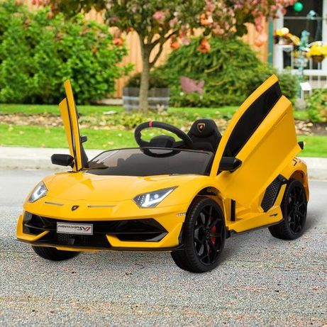 Lamborghini SVJ a bateria 12V com controle remoto para crianças