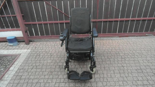 Wózek inwalidzki elektryczny Rapido, składany, przekładany dżojstik