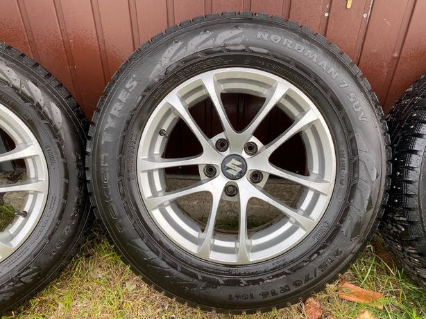 Koła zimowe Suzuki Grand Vitara 215/70R16, 5x114,3 Nowe Opony