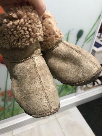 Продам овчинные детские сапожки
