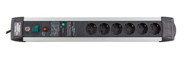Сетевой фильтр Brennenstuhl 6 розеток с защитой от скачков напряжения