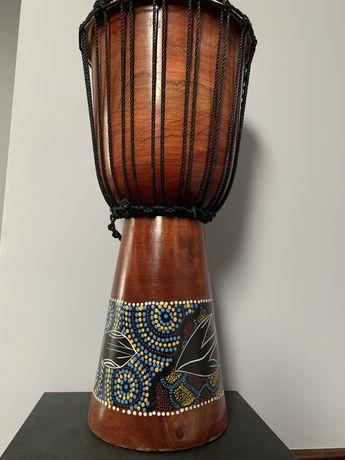 Bęben Djembe przywieziony z Afryki