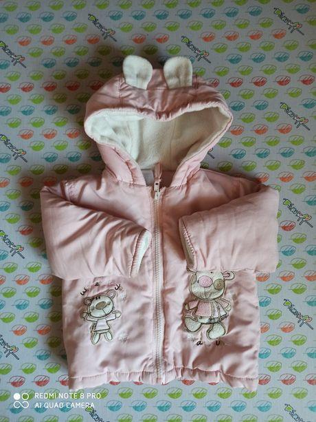 Курточка для девочки с ушками
