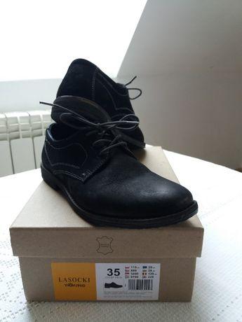 Buty chłopięce idealne na komunię lub inną okazje.