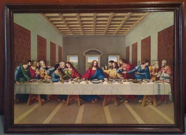"""Quadro """"A ceia de Cristo"""""""