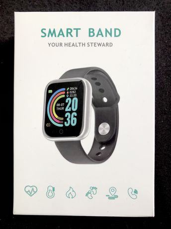 Smartwatch L18 smart band wodoodporny biały Polskie Menu