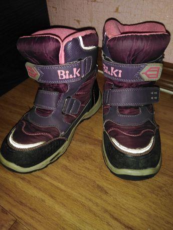 Термо сапоги, ботинки зимние 32 р-р