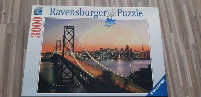Ravensburger Puzzle 3000 San Francisco bei Nacht